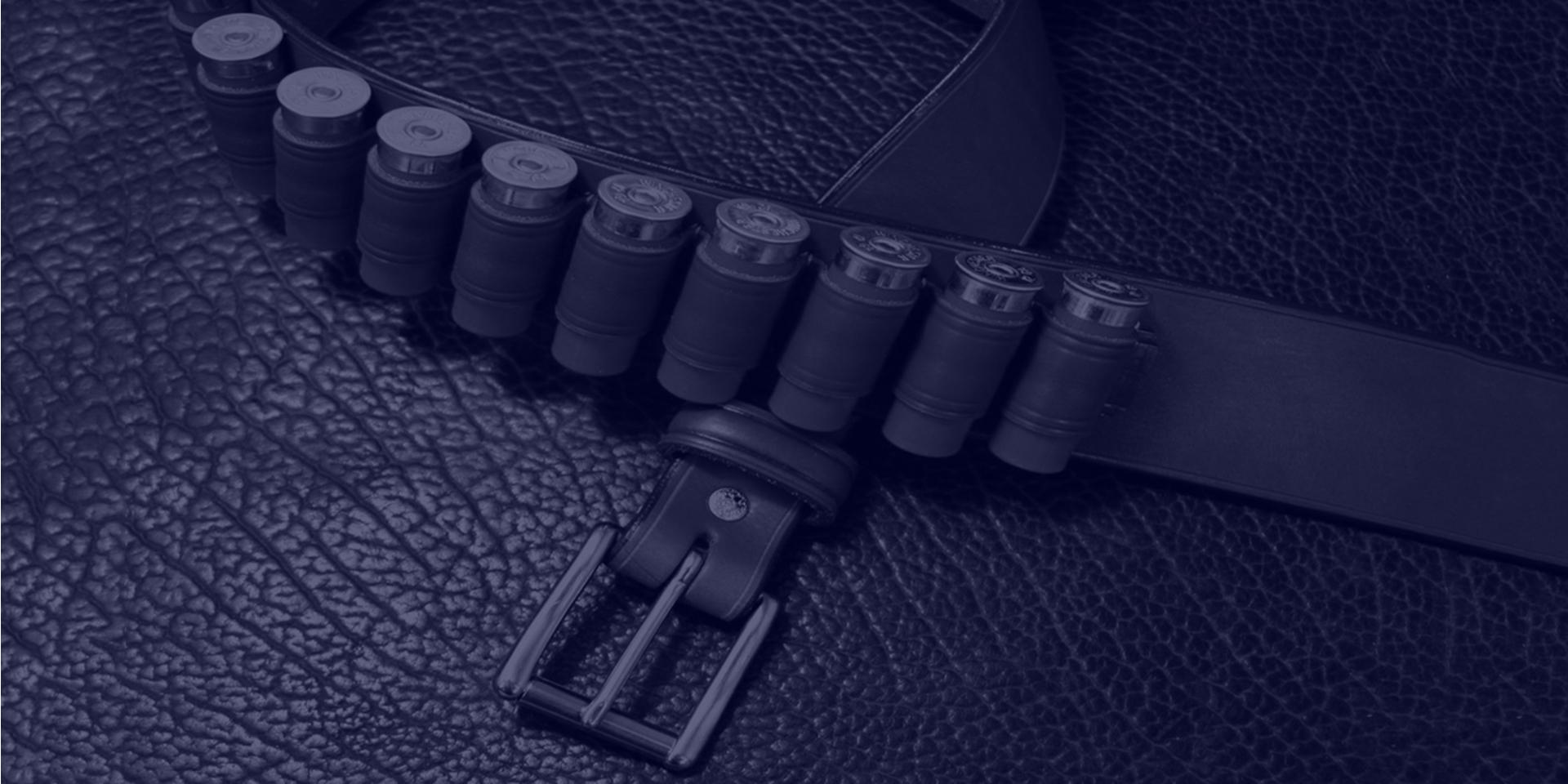 Shot gun belt