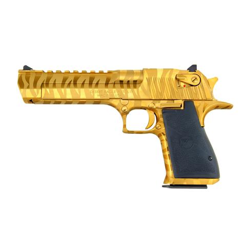 Desert eagle 6 titanium gold tiger karusel