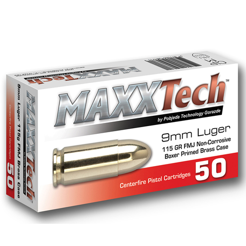 Maxx tech 9mm mosadz