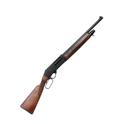 Lever action karusel