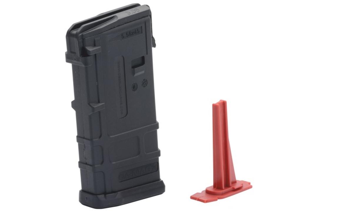 Dvadsať ranový zásobník od jedného z najprestížnejších výrobcov AR-15 v kalibri .223 a čiernej farbe. Súčasťou balenia je aj obmedzovač na 10 nábojov.