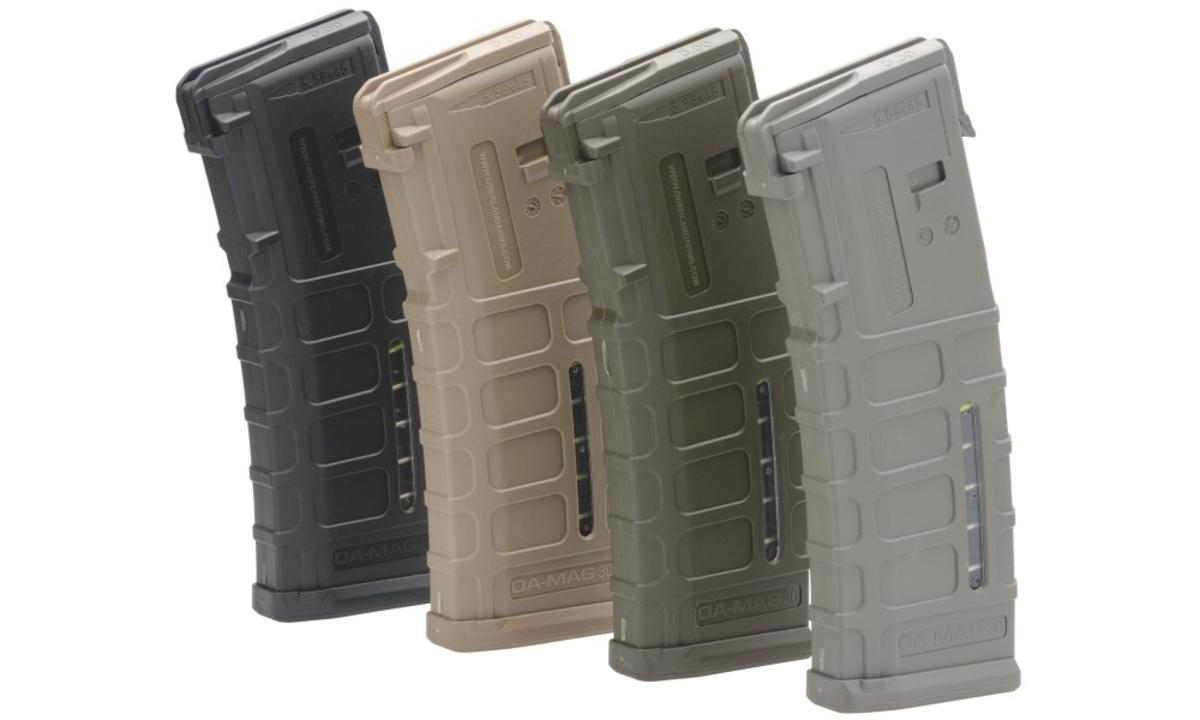 Tridsať ranový zásobník od jedného z najprestížnejších výrobcov AR-15 v kalibri .223. Na boku praktické okienko pre sledovanie stavu nábojov. Na výber z troch možných farieb - olivová, piesková, šedá.