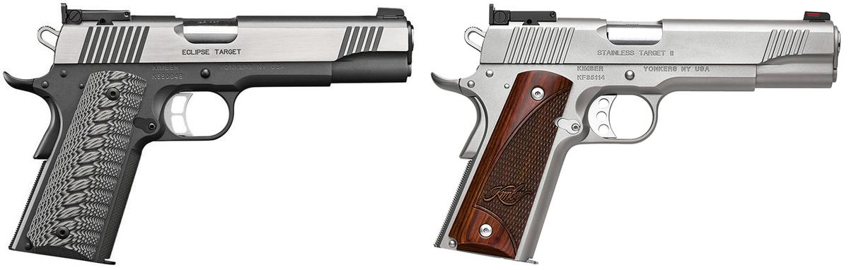 V ponuke máme viac ako 40 modelov pištolí Kimber, ktoré sa vyznačujú vysokou kvalitou, inovatívnymi materiálmi a fantastickým dizajnom, vďaka čomu boli zaradené do výzbroje mnohých vojenských a policajných zložiek, napríklad špeciálnych jednotiek LAPD SWAT. Rad Kimber Target je jedným zo základných radov pre Kimber platformu 1911, ale táto pištoľ spĺňa zároveň najnáročnejšie požiadavky závodných strelcov. Uvedená cena je pre Custom Target II Black. V ponuke máme aj striebornú/ oceľovú Custom Target II a Eclipse Target.
