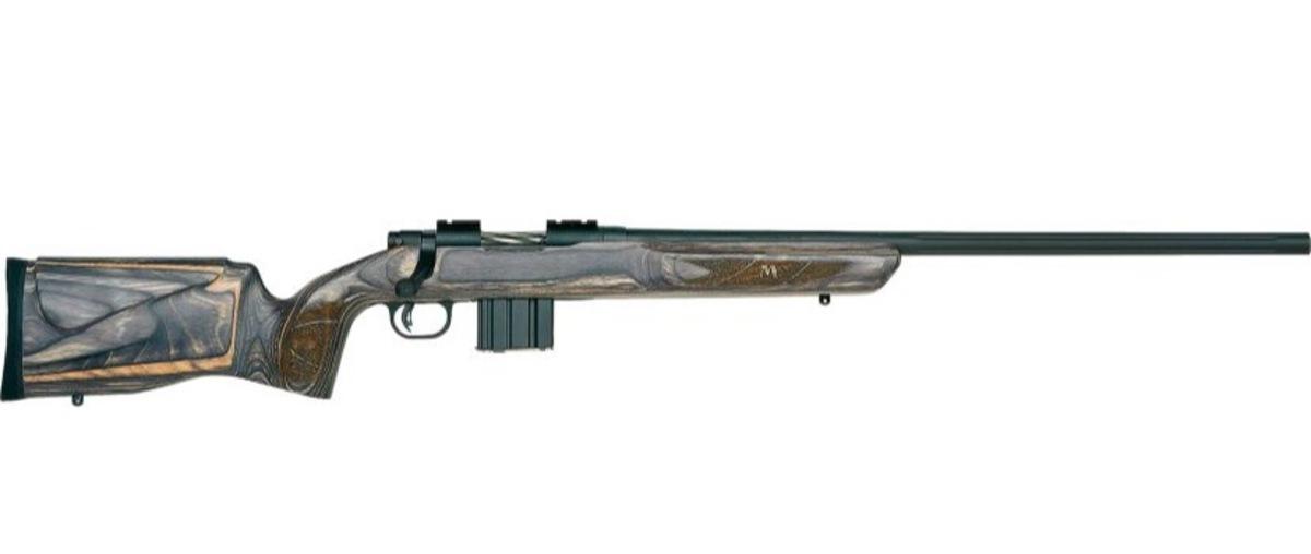 """Firma Mossberg je jeden z najznámejších výrobcov zbraní so 100 ročnou históriou. Má na konte množstvo patentov a najnovšie inovácie v opakovacích puškách sa orientujú na prelínanie so svetom AR. MVP Varmint je puška s kvalitnou drevolaminatovou pažbou, zásobníkmi štýlu AR-10, 24"""" med-bull (stredne hrubou) kanilovanou hlavňou na konci so závitom v stále populárnejšom kalibri 6,5 Creedmoor. V cene je zahrnutá dvojnožka. Foto je orientačná, pre viac detailov volajte."""