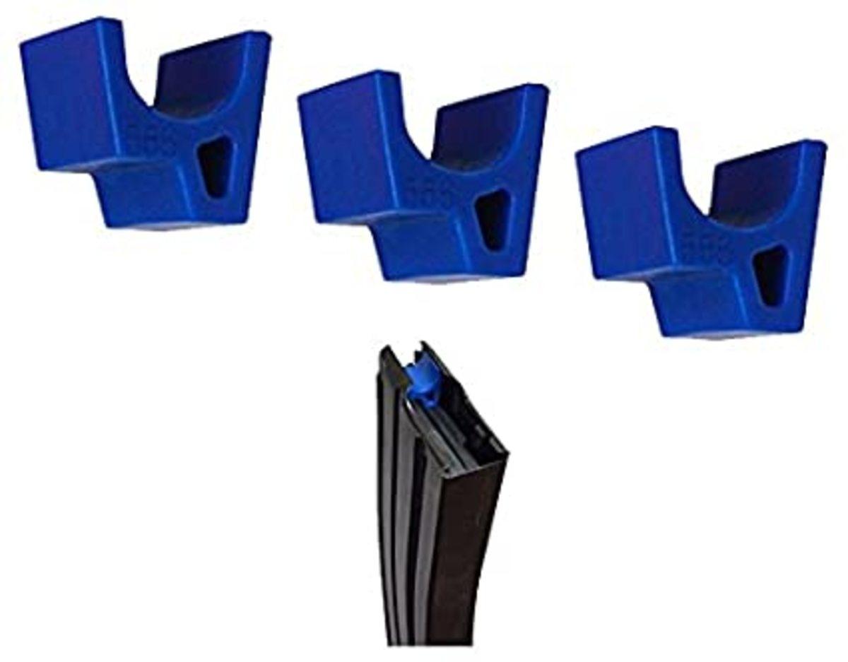 Pušková záslepka zásobníka slúži na tréning obťahovania a prebíjania zásobníka - pri obtiahnutí pušky s prázdnym zásobníkom a záslepkou neostane záver vzadu, ale správa sa, ako keby v ňom bol náboj. Záslepka má bezpečnostnú kriklavú farbu a dá sa použiť aj bez systému Mantis X. Cena je za 1ks.