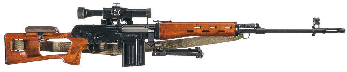 Norinco EM351 (občas označovaná aj NDM86) je licencovaná novovýroba známej pušky SVD Dragunov a najvernejšia kópia tejto pušky, ktorú si môže dovoliť aj skoro bežný smrteľník. Puška je samozrejme v kalibri 7,62x54R s hlavňou dĺžky 622mm. V balení spolu s optikou PSO-1 4x24.