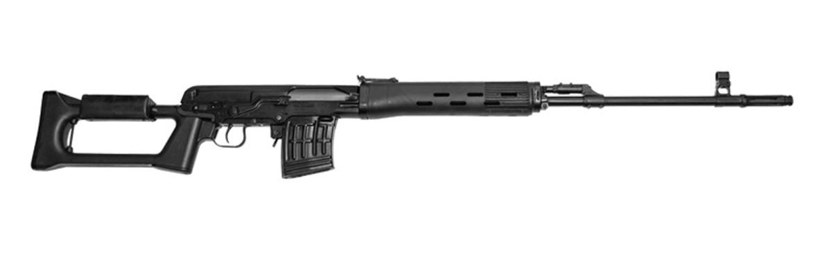 Tigr 01 je civilná verzia známej pušky Dragunov SVD z ruského závodu Izmash v kalibri 7,62x54R, používaná armáday vo viac ako 35 krajinách sveta. Hlaveň má 620mm, je chrómovaná, s pôvodným stúpaním 1:12,6. Ponúkaná verzia je čierna s polymérovou pažbou a 10 ranovým zásobníkom.