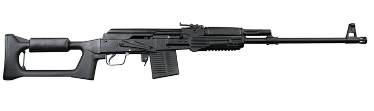 Puška AK308 je novovýroba ruskej spoločnosti Izmash pre všetkých fanúšikov dizajnu SVD Dragunov, ale v kompaktnejšom a dostupnejšom formáte aj kalibri. Je určená na dlhšie vzdialenosti, postavená na overenej AK platforme, s prvkami AK-12, v rozšírenom kalibri .308WIN. Hlaveň má dĺžku 550cm a je pochrómovaná pre dlhšiu životnosť. V balení je jeden zásobník a čistenie.