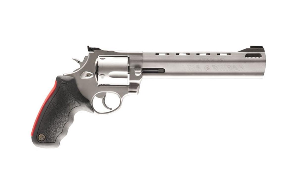"""Postavená ako tank, kvôli jednému z najväčších pištoľových kalibrov .454 cassul. Dvojité uzamykanie valca pre väčšiu bezpečnosť, mäkká vystlaná pažbička pre tlmenie spätného rázu. Kapacita valca je 5 nábojov. Vynikajúca presnosť vďaka 8"""" hlavni. Je možné použiť aj náboje ráže .45 Colt"""